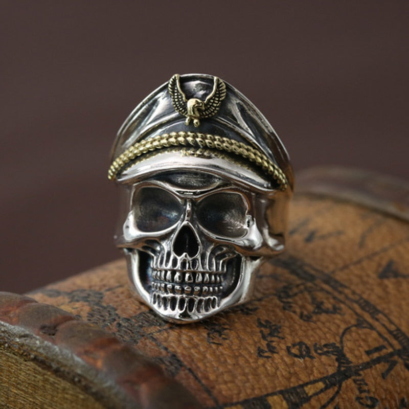 Classic Gothic Skull Men Ring