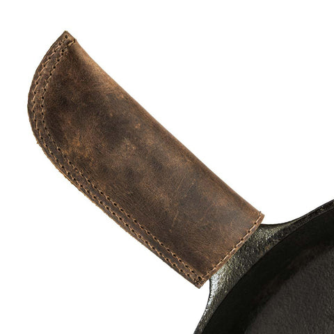 Handmade Bourbon Brown Handle Cover by Knapp Made