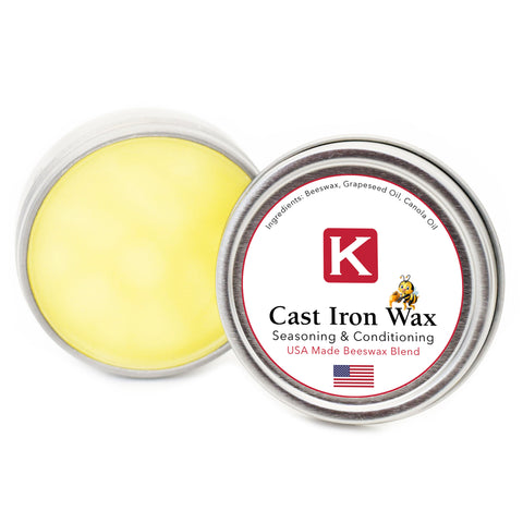"Knapp Made Cast Iron Wax ""Perfect Seasoning"""
