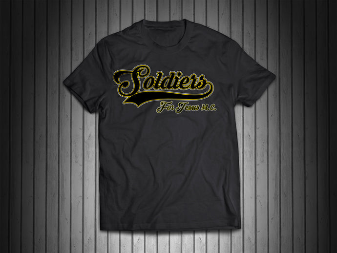Soldiers For Jesus Support Baseball Tee