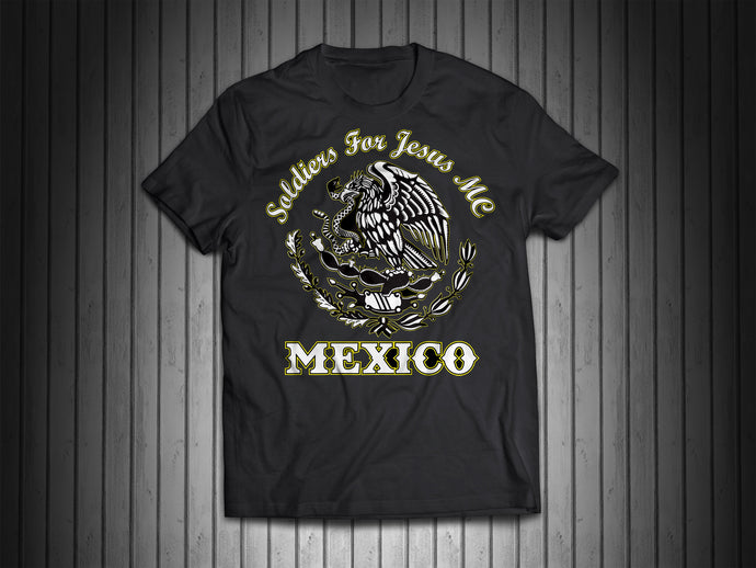 Support Soldiers For Jesus Mexico Shirt