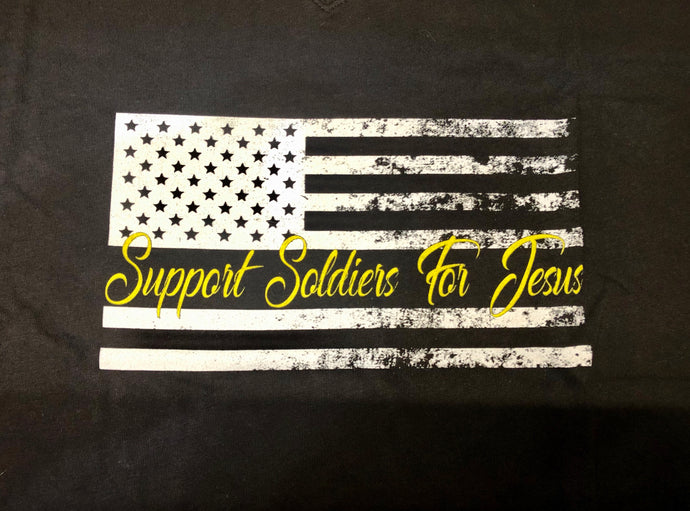 Womens Soldier Flag Shirt