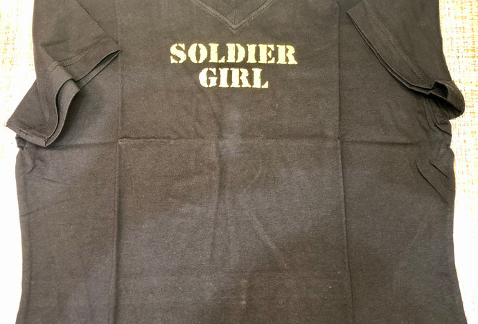 Womens Soldier Girl Shirt