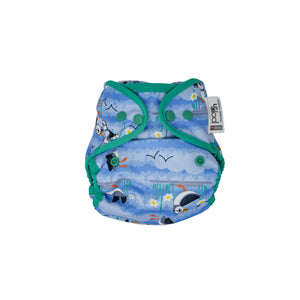 Pop-in One Size Nappy Cover (Bio-laminate)