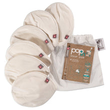 Load image into Gallery viewer, Pop-in Reusable Nursing Pads (3 pairs in a mesh bag)