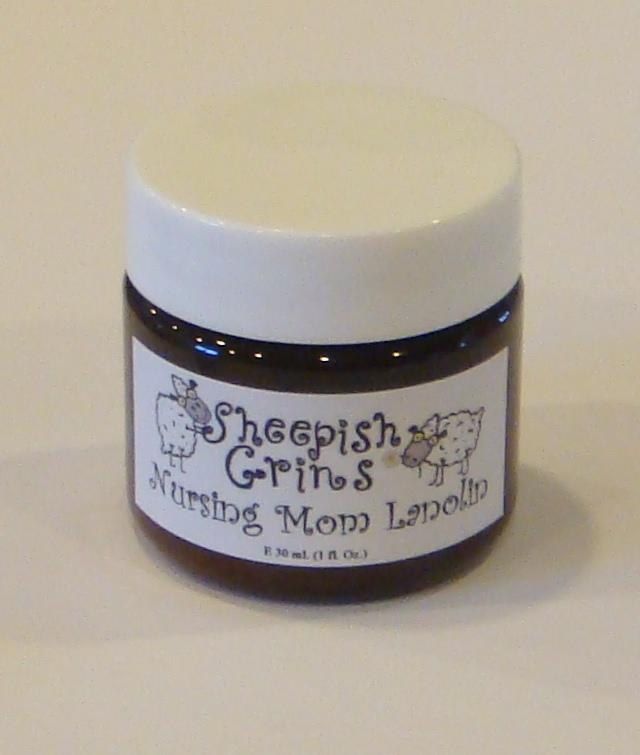 Sheepish Grins - Nursing Mom Lanolin 30mls