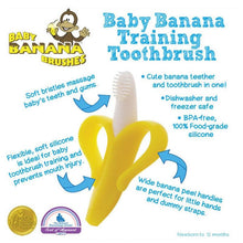 Load image into Gallery viewer, BABY BANANA BRUSH - Infant Teething Toothbrush
