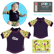 Load image into Gallery viewer, Pop-in Baby and Toddler Swim Rash Vest UPF50+ (2018)