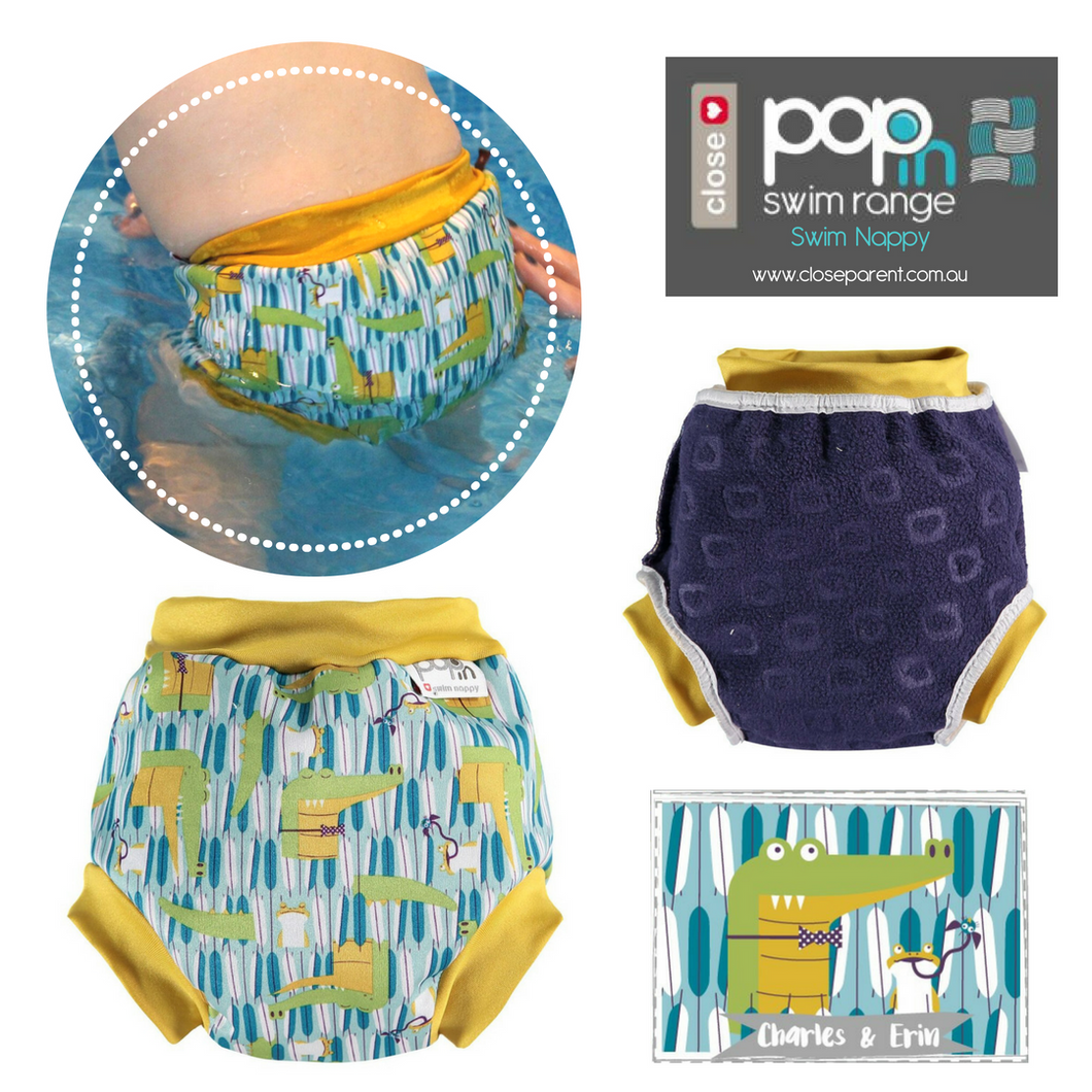 Pop-In Reusable Baby Swim Nappy (2019)