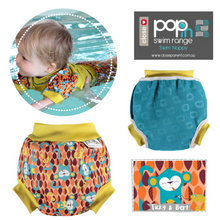 Load image into Gallery viewer, Pop-In Reusable Baby Swim Nappy (2019)