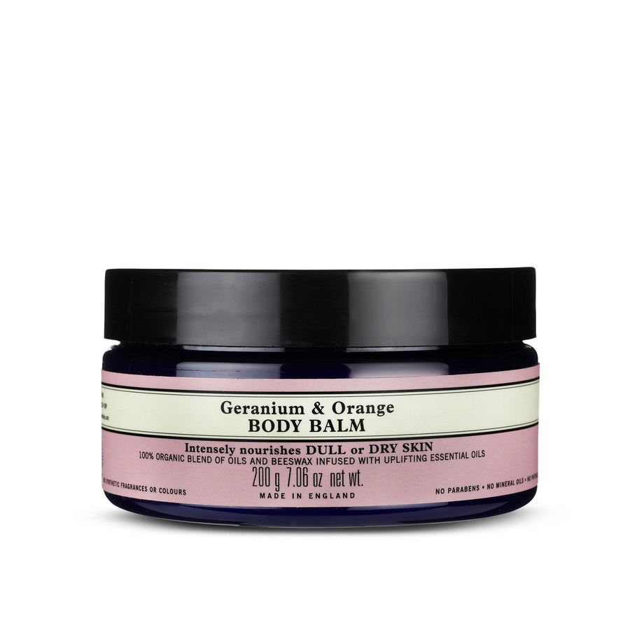 geranium and orange body balm