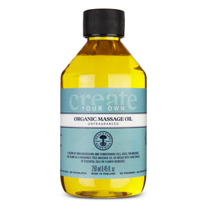 Create your own organic massage oil