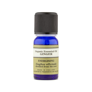 organic ginger essential oil