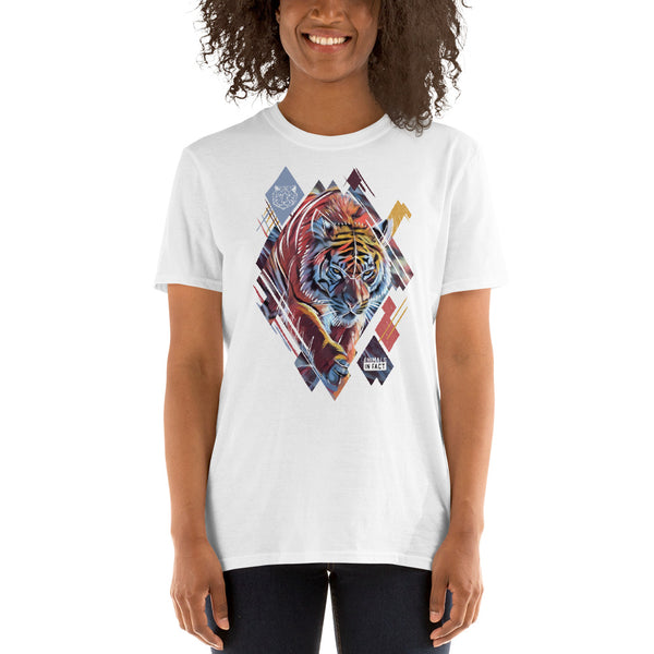 TIGER CANVAS T-SHIRT