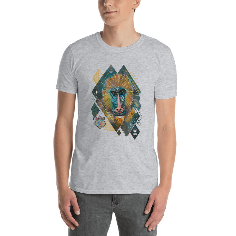 BABOON CANVAS T-SHIRT