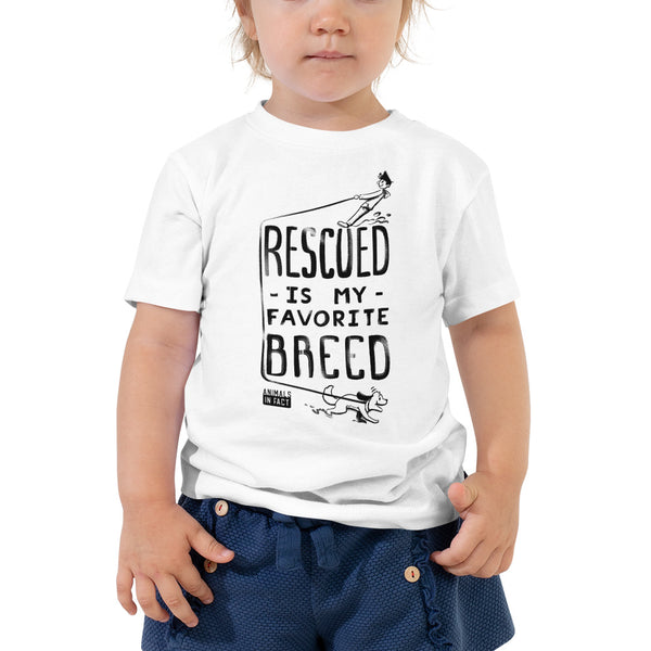 RESCUED DOG TODDLER TEE