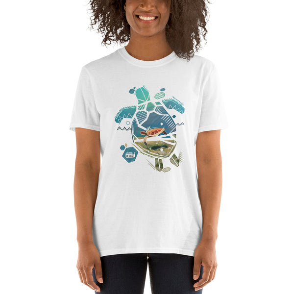 TURTLE CANVAS T-SHIRT