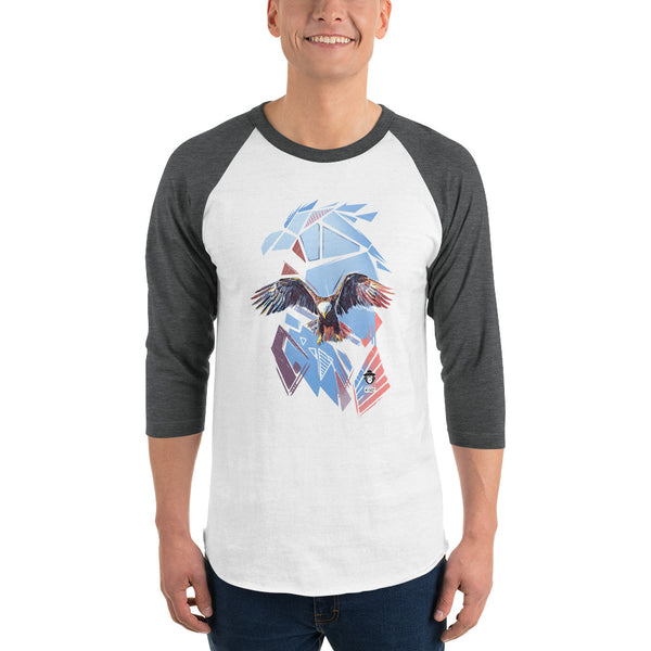EAGLE CANVAS 3/4 SLEEVE SHIRT