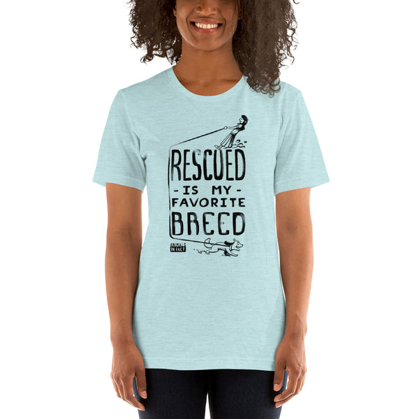B+C RESCUED DOG T-SHIRT