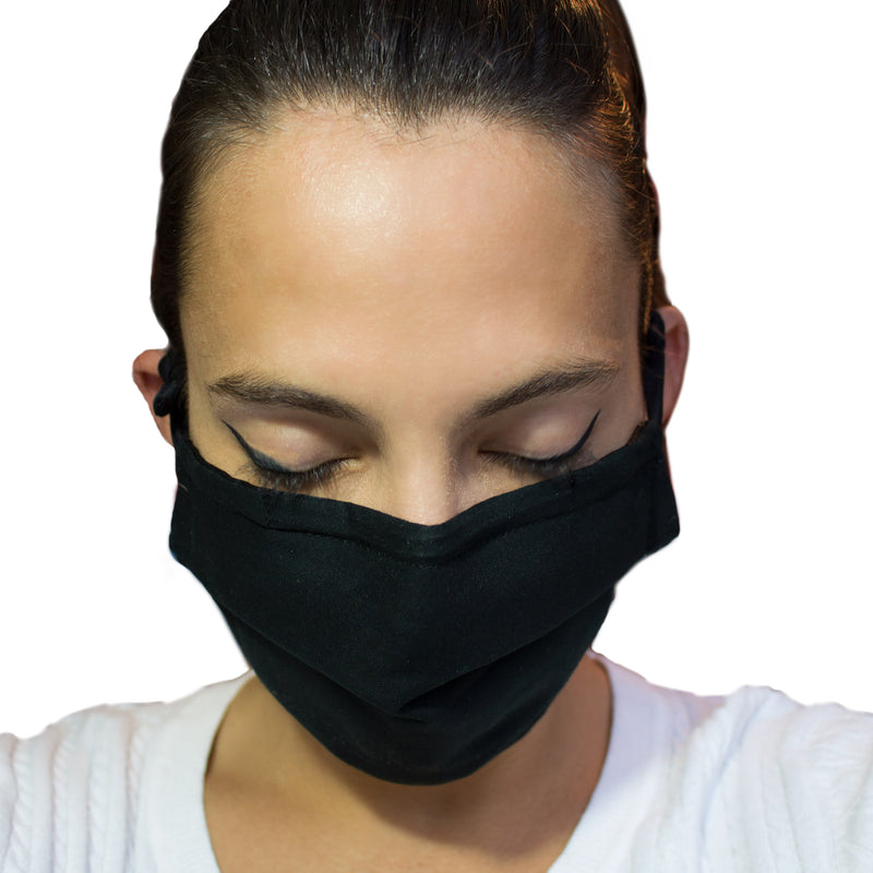 Mask 2.0 (PACK OF 1,3 OR 6) / WASHABLE / REUSABLE / 3 LAYERS OF 100% COTTON