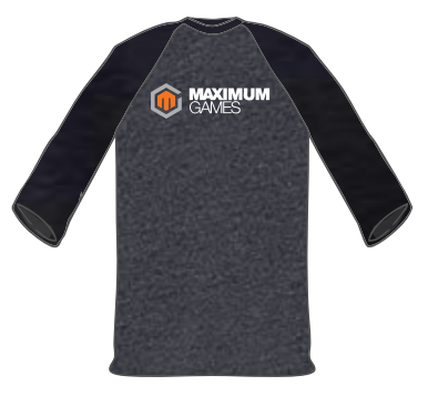 Maximum Games Raglan Tee