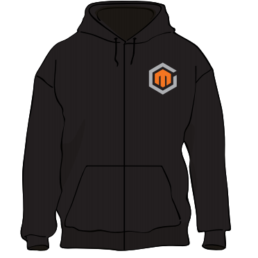 Maximum Games Full Zip Hoodie