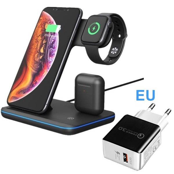 3 In 1 Wireless Charger - xtalbox