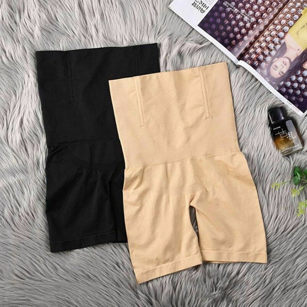 High-Waisted Shaper Shorts - xtalbox