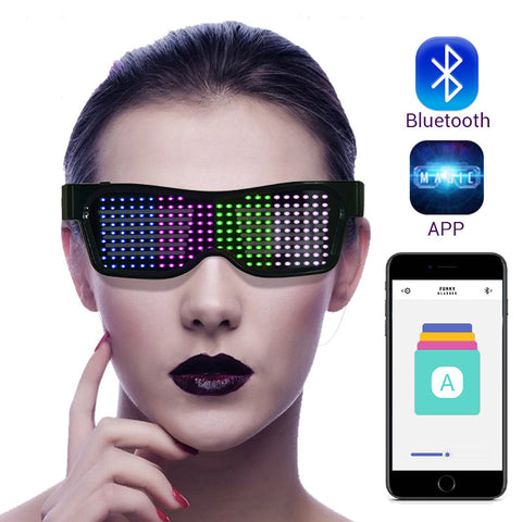 Magic Bluetooth LED Party Glasses - xtalbox