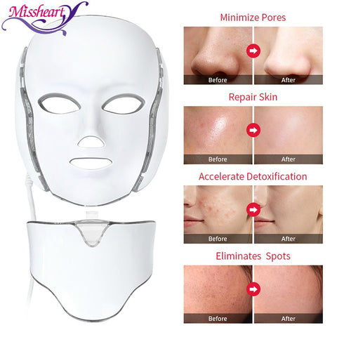 LED Facial Therapy Mask - xtalbox