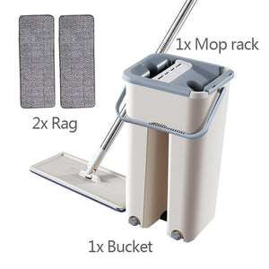 Automatic Lazy Mop And Bucket - xtalbox