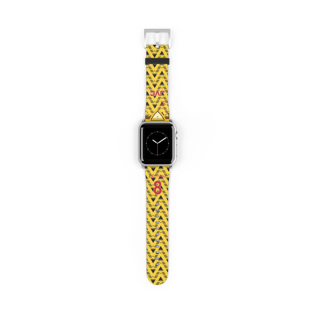 Arsenal 1991/1993 Away Style Personalised Replacement Apple Watch Strap