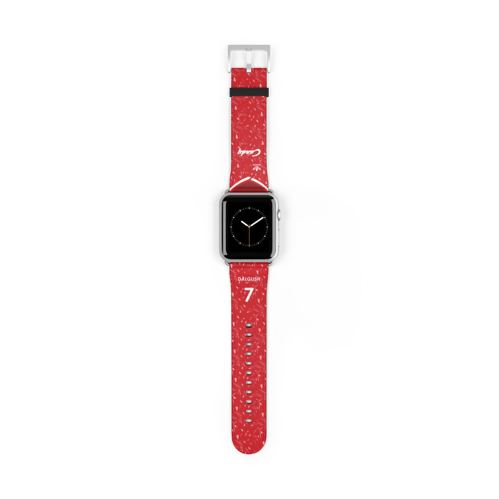 Liverpool 1989/1991 Home Kit Style Personalised Replacement iWatch Strap