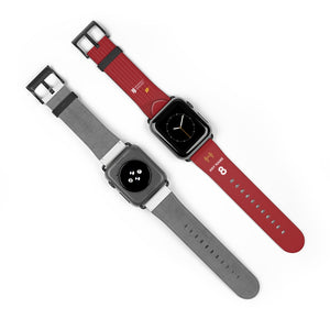 Liverpool 2019/2020 Home Kit Style Personalised Replacement iWatch Strap