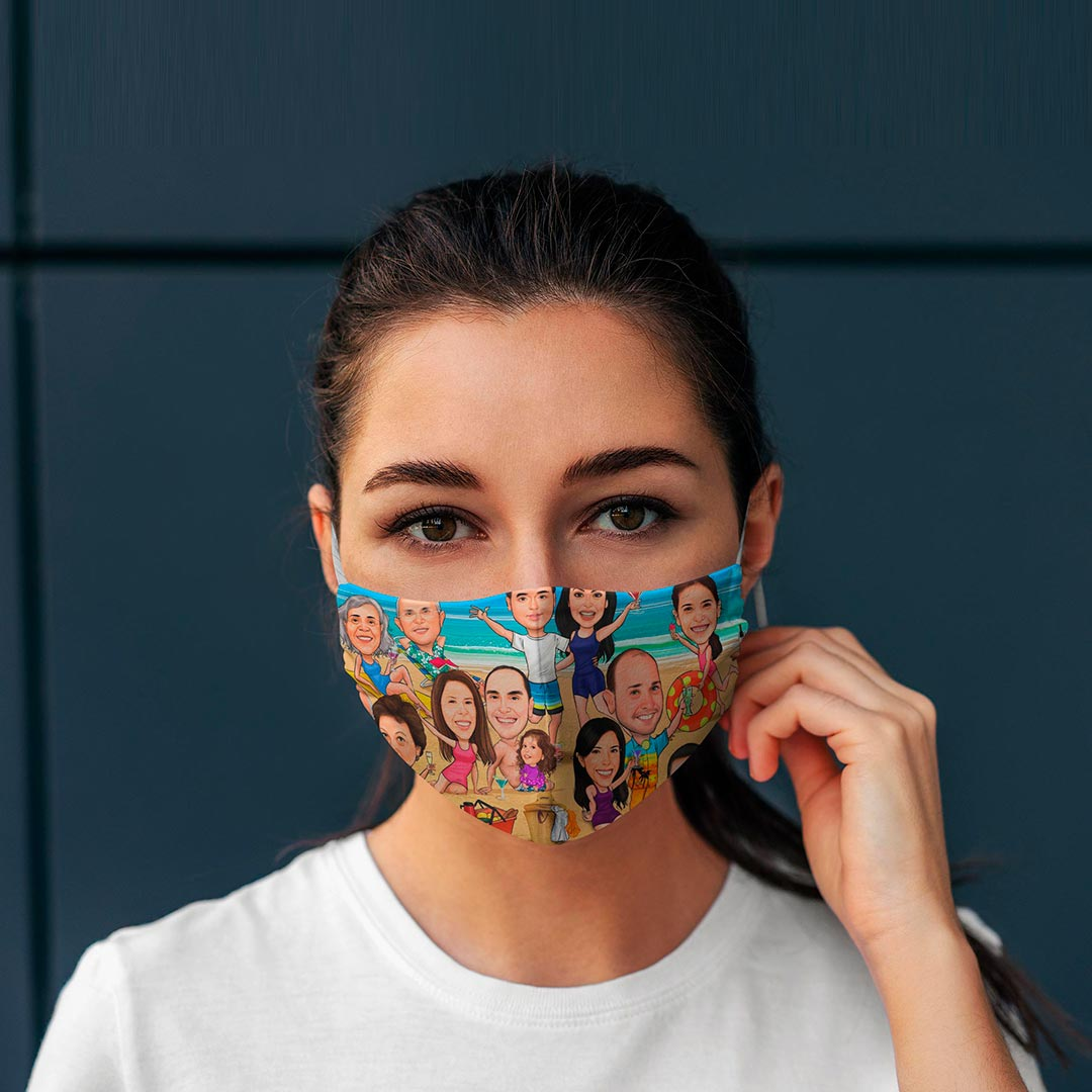 Make Your Own Custom Face Mask Any Photo
