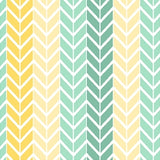 Chevron Cream-Mint