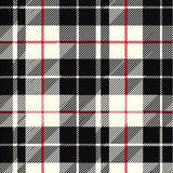 Santa Plaid White