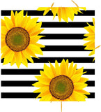 Sunflowers & Stripes