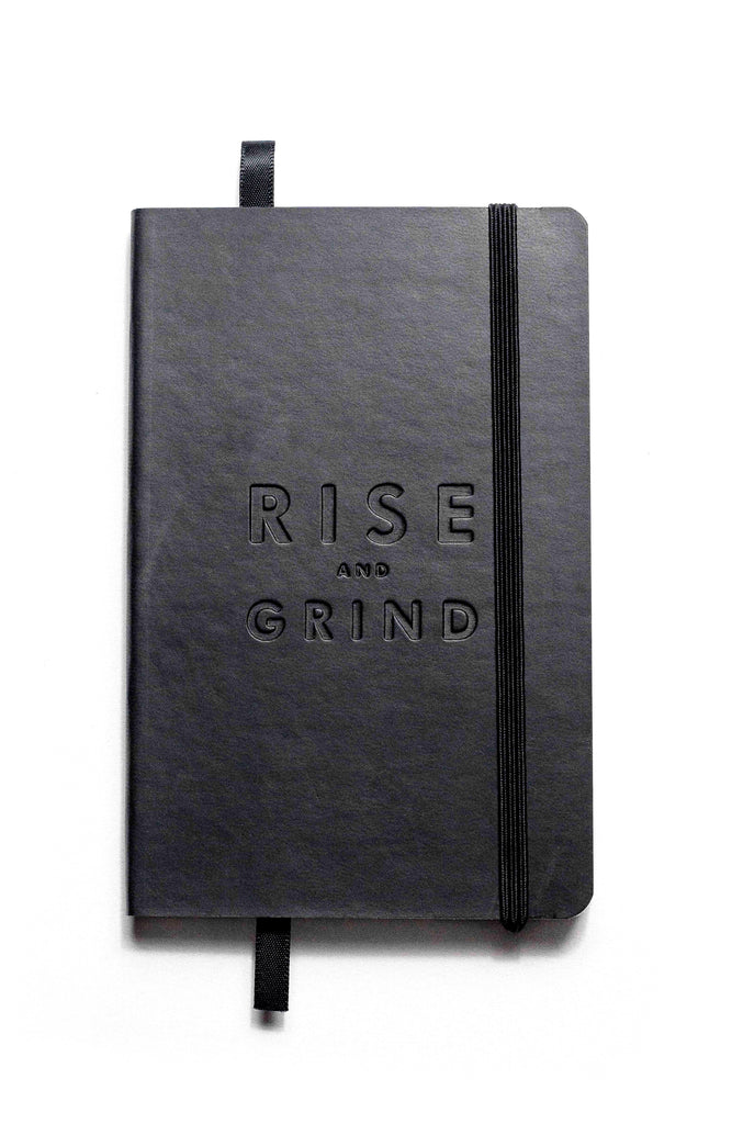 Rise And Grind Pocket Soft Bound Journal Book