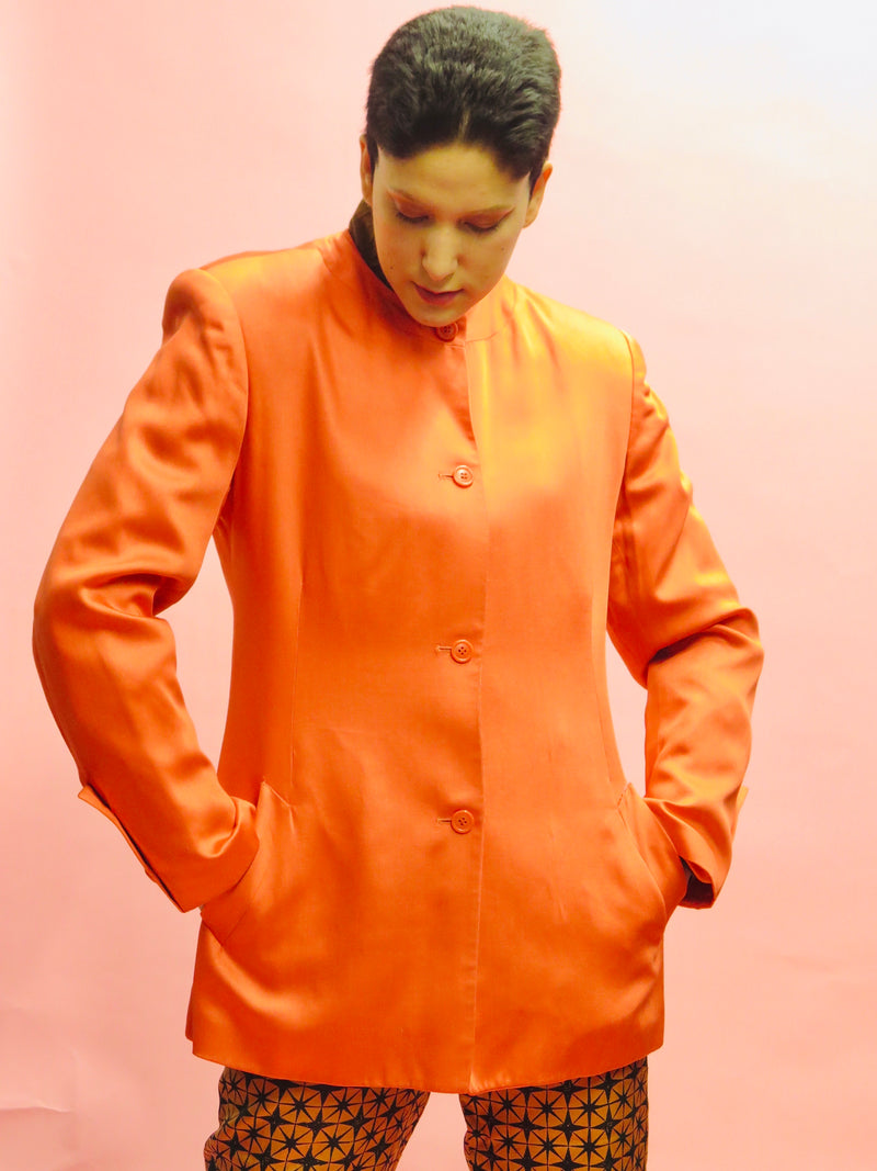 1980's Stephen Sprouse Persimmon Blazer
