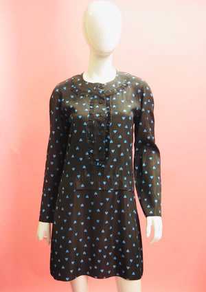 Marni 2011 Hearts Print Tunic Dress