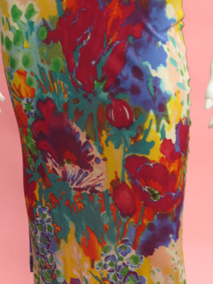 Etro Digital Floral Sheath Dress