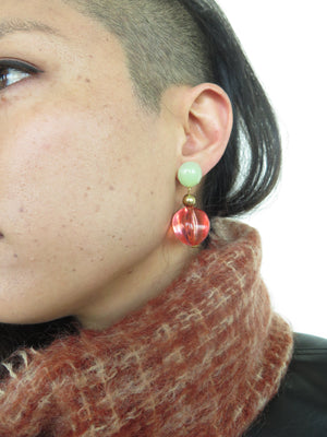 Bijoux by Bui Francesca Strawberry lucite Earring