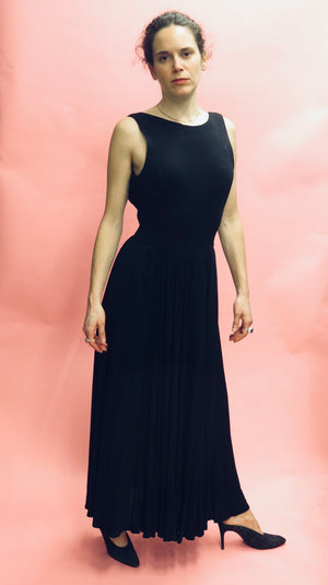 Ralph Lauren Black Label Jersey Evening Dress