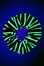 Load image into Gallery viewer, GLOW BONE SCRUNCHIE (GLOW IN THE DARK!)