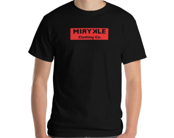 Men's Short Sleeve Red MIRYKLE T-Shirt