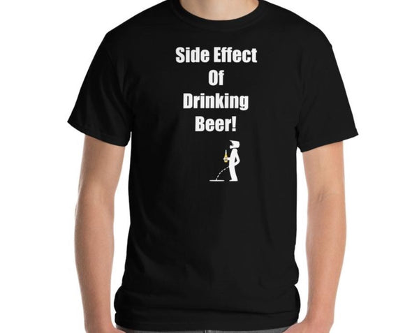 Men's Classic T-Shirt Side Effect Of Beer Motocross Edition