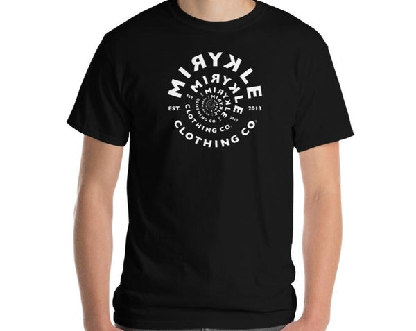 Men's Classic T-Shirt MIRYKLE White Spiral