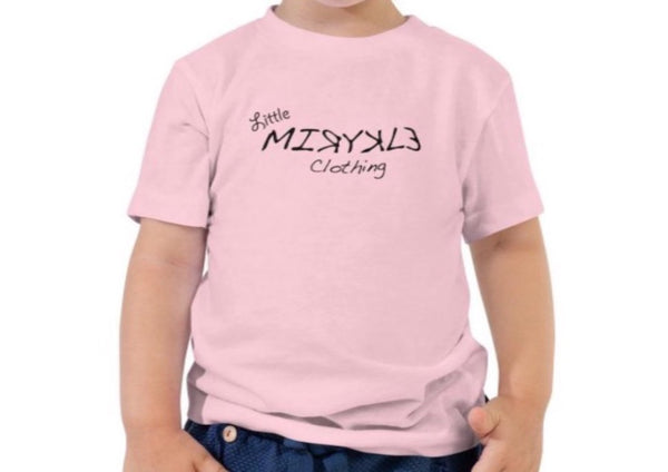 Toddler Short Sleeve Tee Little MIRYKLE