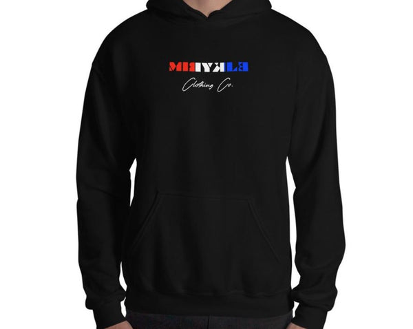 Red White And Blue MIRYKLE Hoodie